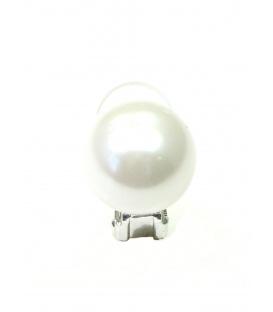 Parel clip oorbellen (1,4 cm)