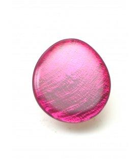 Mooie fuchsia roze parelmoer oorclips van Culture mix