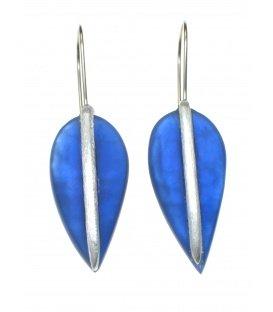 Mooie Culture mix blauwe oorbellen