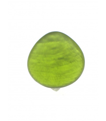 Mooie olijf groene parelmoer oorclips van Culture mix