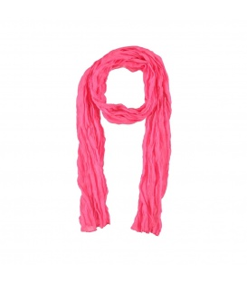 Neon roze dunne lange sjaal