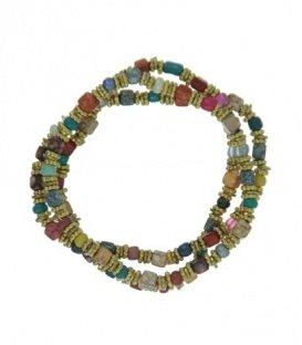 Gekleurde armband van kleine kralen een set van 3