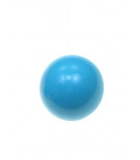 Blauwe halfronde oorclips