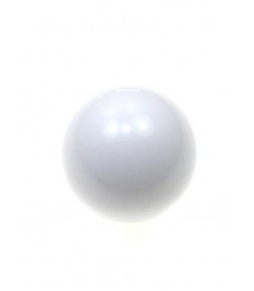 Witte halfronde oorclips