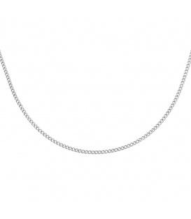 Simpele zilverkleurige ketting
