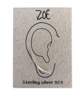 Zilveren (925) oorbellen (earline)
