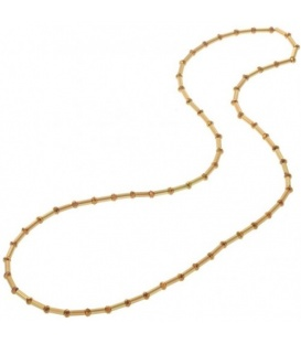 Elastic Necklace with Plastic Bead