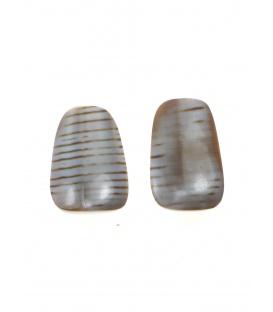 Culture Mix oorclips van schelp