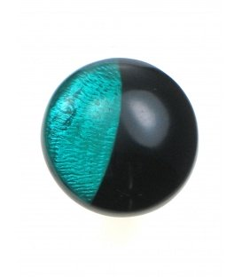 Culture Mix oorclips met groene en zwarte invulling
