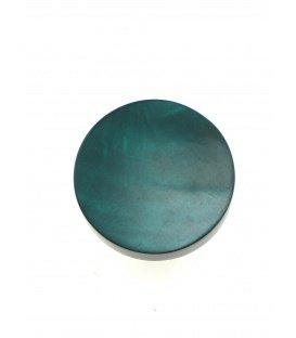 Oorclips van Culture Mix in een donkergroene kleur met een parelmoer inleg