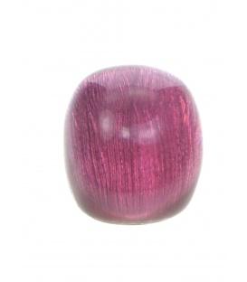Roze bolle oorclips van Culture Mix