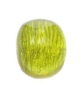 Gele bolle oorclips van Culture Mix