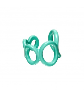 Leuke blauwe ring
