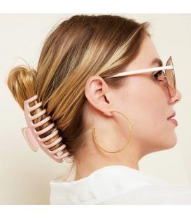 Grote haarclip glanzende afwerking