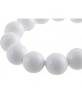 Witte kralenarmband