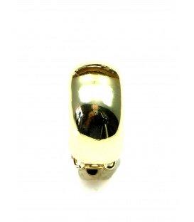 Goudkleurige halfronde oorclips