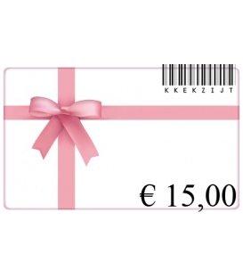 Cadeaubon van 30 euro