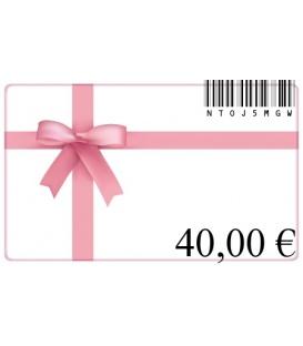 Cadeaubon van 40 euro