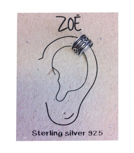 ZOË Earcuffs met een peace teken sterling zilver (925)