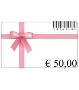 Cadeaubon van 50 euro