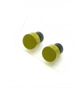 Gekleurde oorknopjes oorbellen van Tjonge Jonge